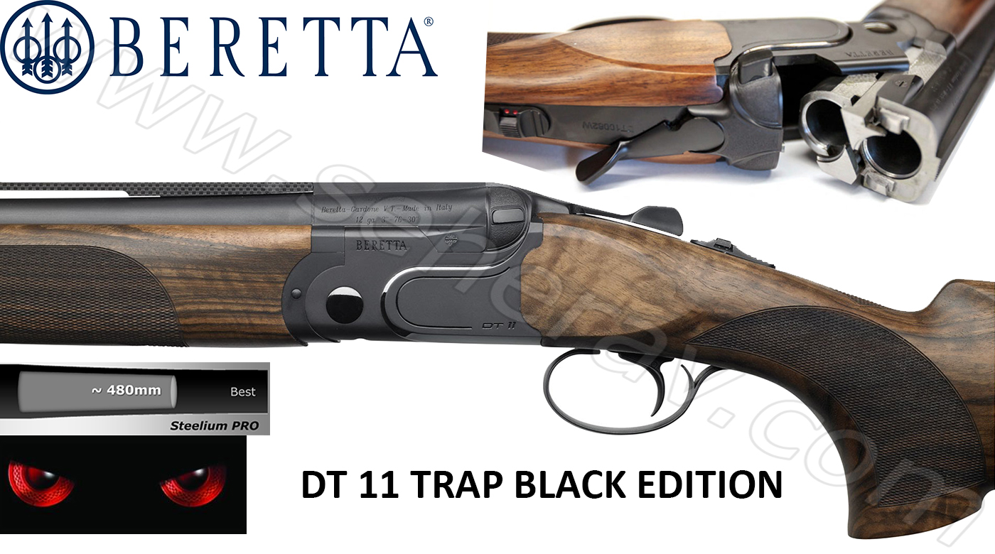 DT 11 TRAP BLACK EDITION