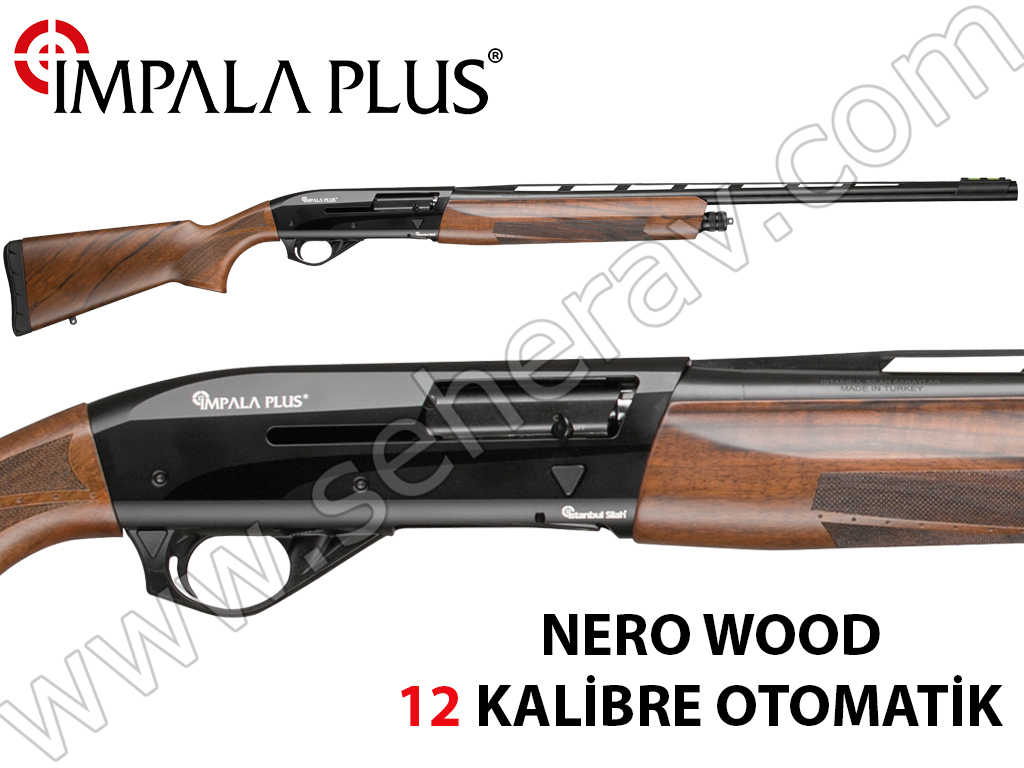 İMPALA PLUS NERO WOOD 12 KALİBRE OTOMATİK