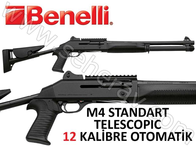BENELLİ M4 TELESCOPIC STOCK 12 KALİBRE OTOMATİK