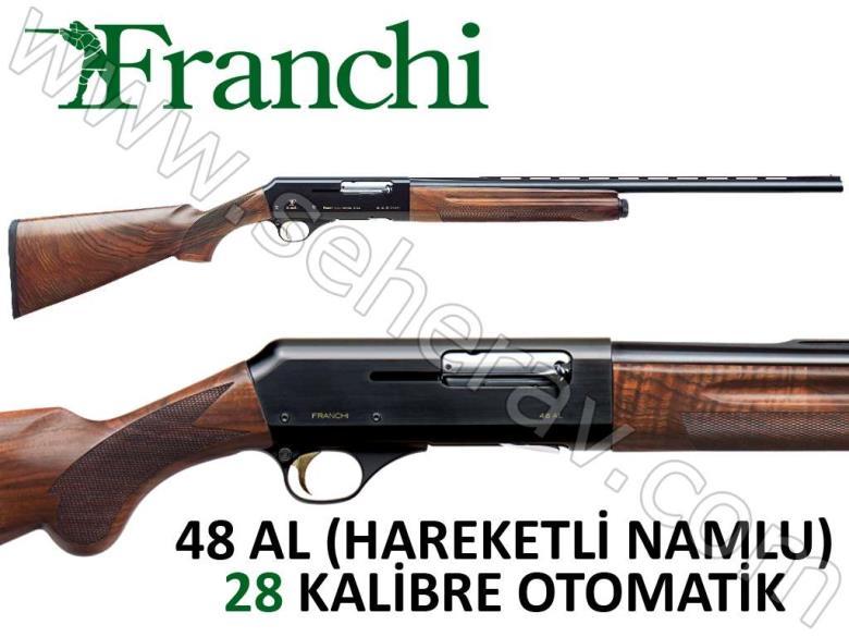 FRANCHI 48 AL NAMLU HAREKETLİ 28 KALİBRE OTOMATİK