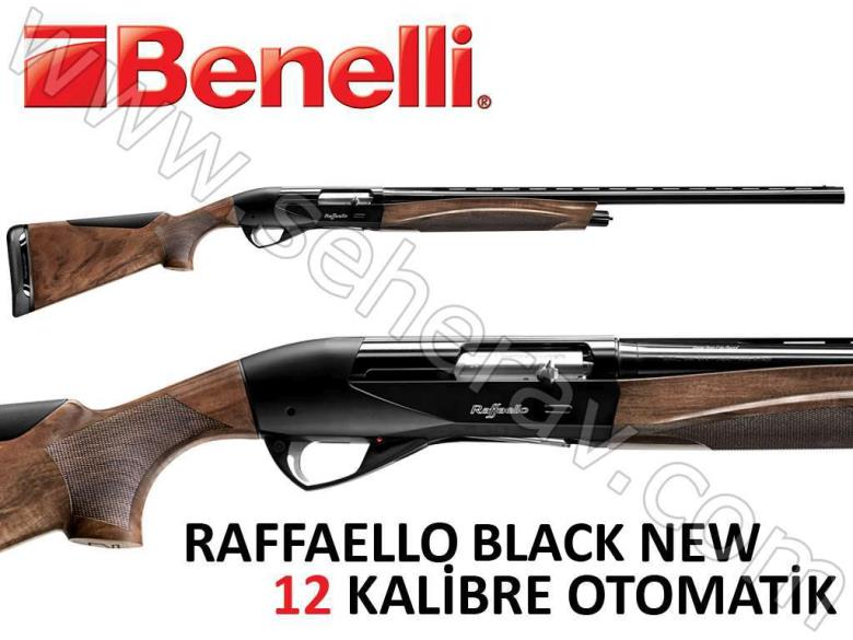 BENELLİ RAFFAELLO BLACK NEW 12 KALİBRE OTOMATİK