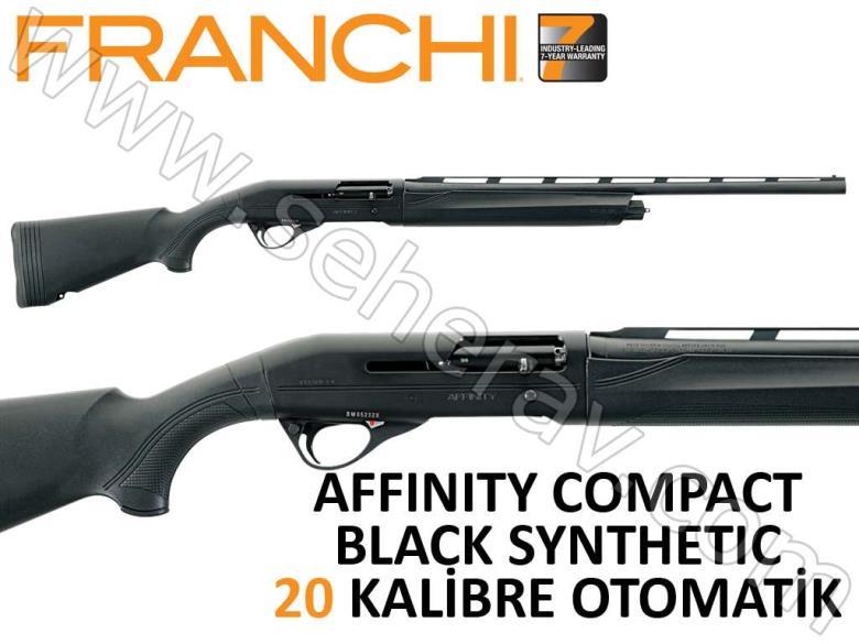 FRANCHI AFFINITY COMPACT BLACK SYNTHETIC NEW 20 KALİBRE OTOMATİK