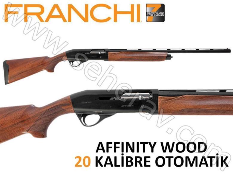 FRANCHI AFFINITY WOOD 20 KALİBRE OTOMATİK