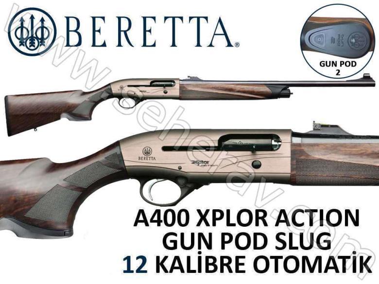 BERETTA A400 XPLOR ACTION GP2 SLUG 12 KALİBRE OTOMATİK