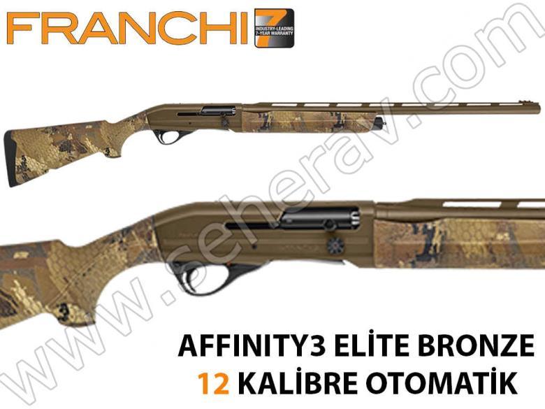 FRANCHİ AFFINITY ELİTE BRONZE 12 KALİBRE OTOMATİK