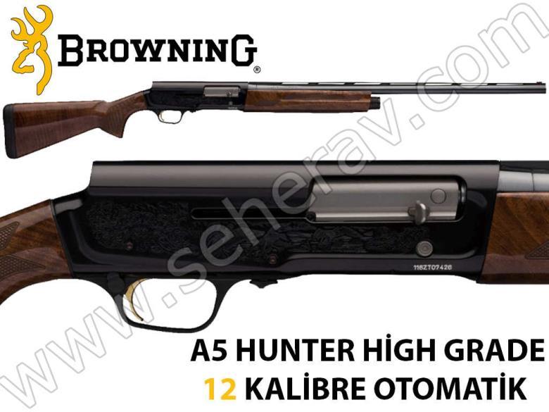 BROWNİNG A5 HUNTER HİGH GRADE 12 KALİBRE OTOMATİK